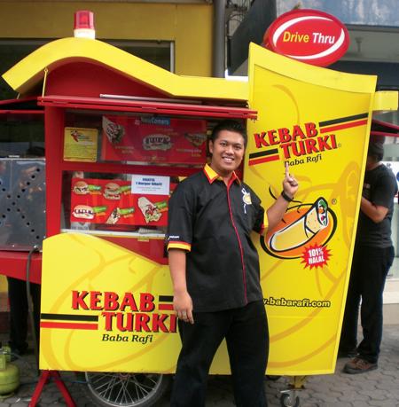 Kebab Turki Baba Rafi Franchise Opportunity
