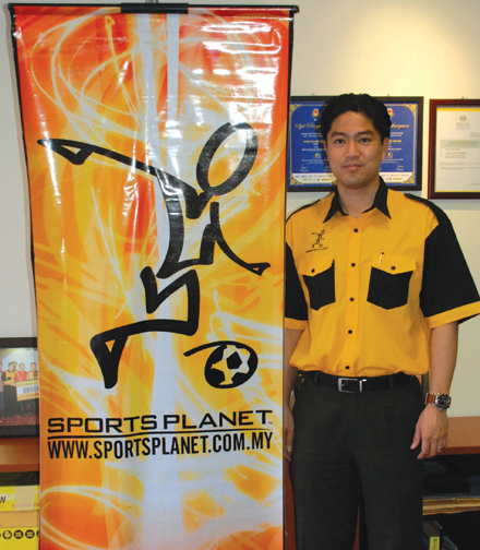 Interview with Sports Planet Franchisor