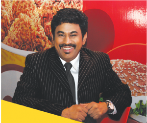 Dr M.A. Babu, Director of franchise Operations for ChicKing